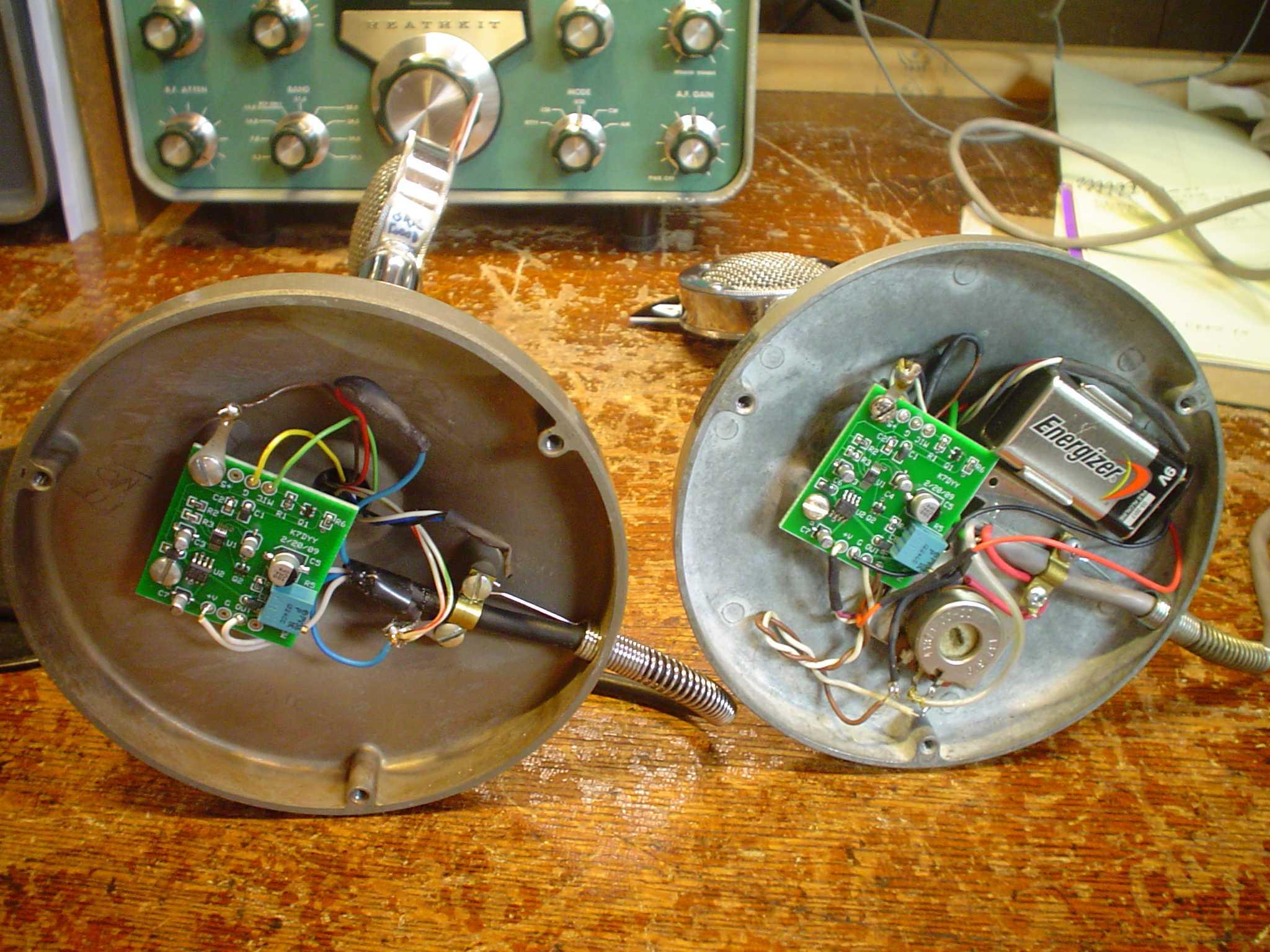 K7dyy D 104 Microphone Processor Board