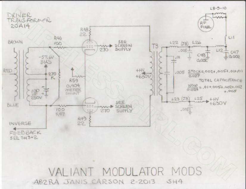 johnson valiant schematics