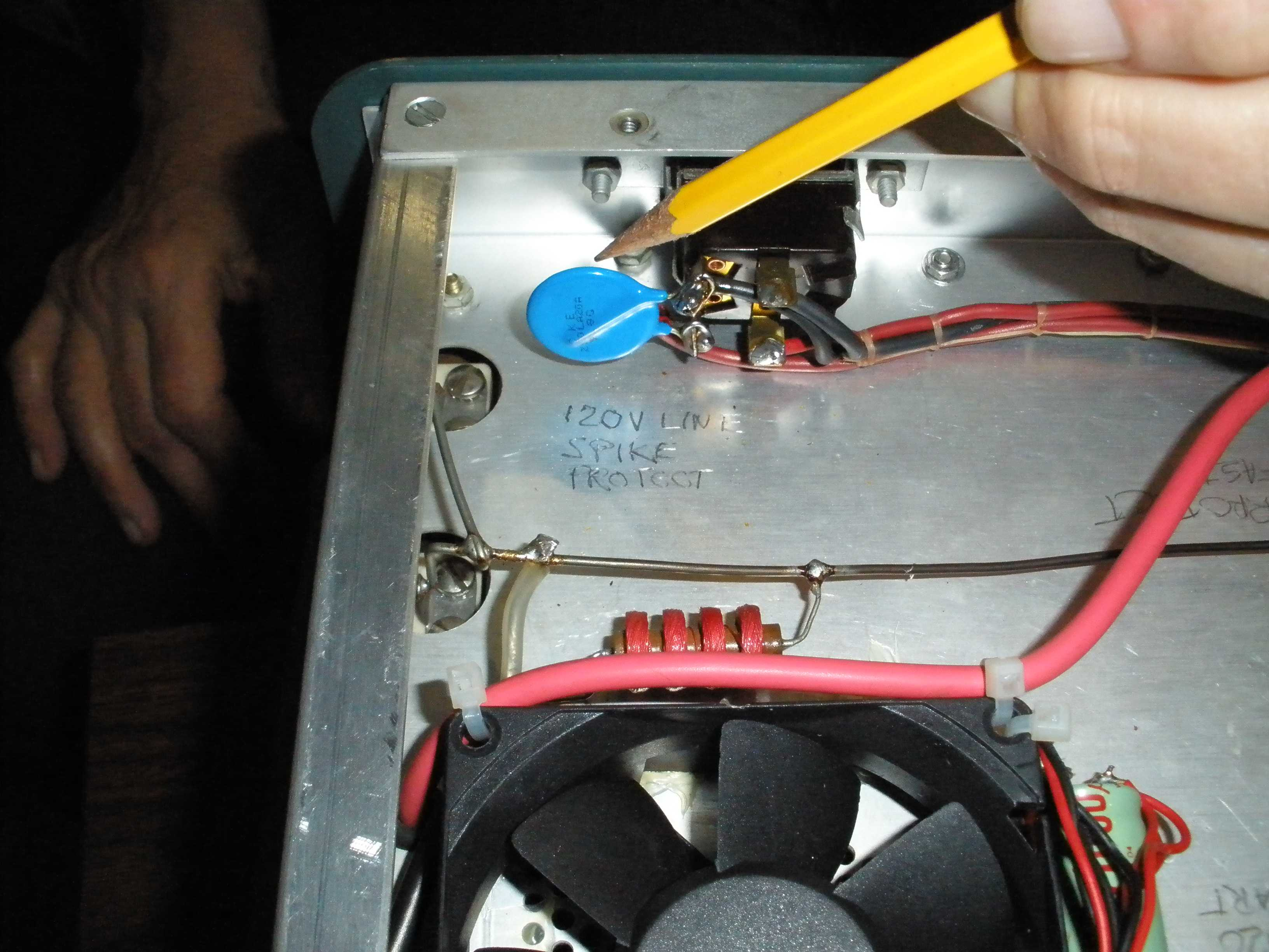 Heathkit SB-200 Repair and Mods: Soft Start, ARC protection, 572B ...