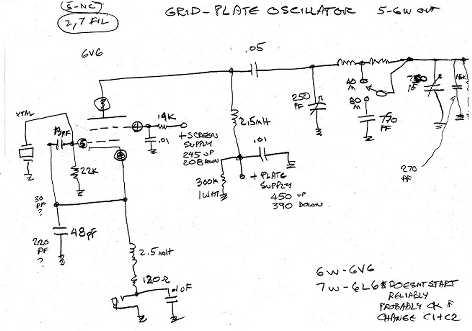 Homebrew 6V6 CW Oscillator